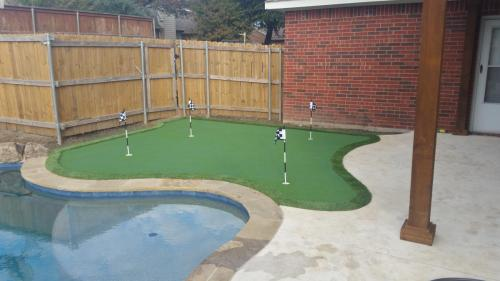 Gallery - Synthetic Putting Greens & Lawn Turf